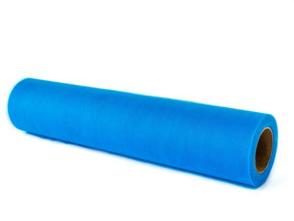 Blauw - tule op rol - tuleshop